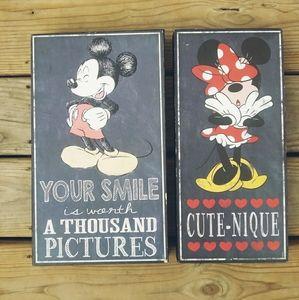 Mickey & Minnie Canvas